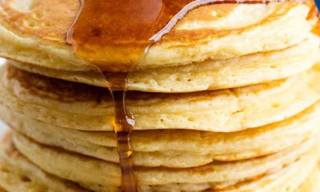Perfect Homemade Pancake Recipe