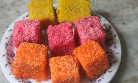 Lamington Jelly Cakes Recipe