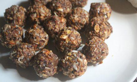 Healthy Cereal Balls Recipe