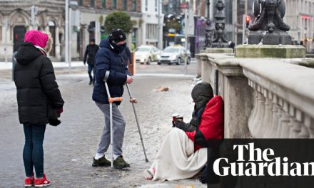 Dublin's homelessness crisis jars with narrative of Irish economic boom