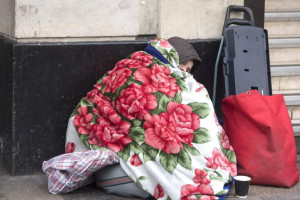 Rise in homeless on Wigan's streets