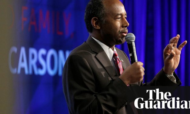 Chronicling homelessness: don't look to Ben Carson for help with the crisis